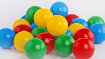 Ball-pool balls 4 color MIX
