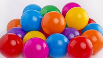 Ball-pool balls 7 color MIX