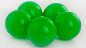Ball-pool balls GREEN color