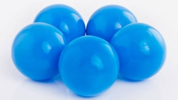 Ball-pool balls BLUE color