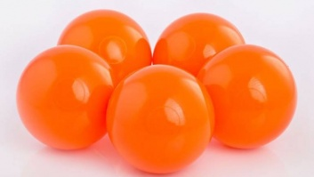 Ball-pool balls ORANGE color