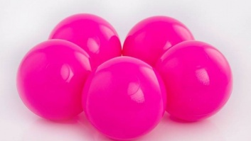 Ball-pool balls PINK color