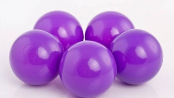 Ball-pool balls VIOLET color