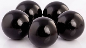 Ball-pool balls BLACK color