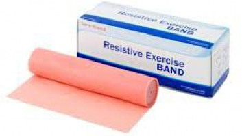 Gymnastic rubber - resistance band Sanctband ™ peach - very light resistance