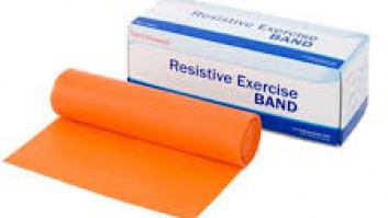 Gymnastic rubber - resistance band Sanctband ™ peach - light resistance