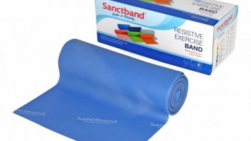 Gymnastic rubber - resistance band Sanctband ™ blueberry - heavy resistance